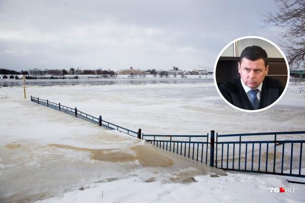 Губернатор просит ярославцев не паниковать