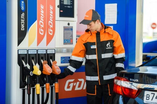 Бензин прекрасно зарекомендовал себя у красноярцев