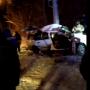«Лихо обогнал»: в Челябинске в столб врезался автомобиль, полный людей