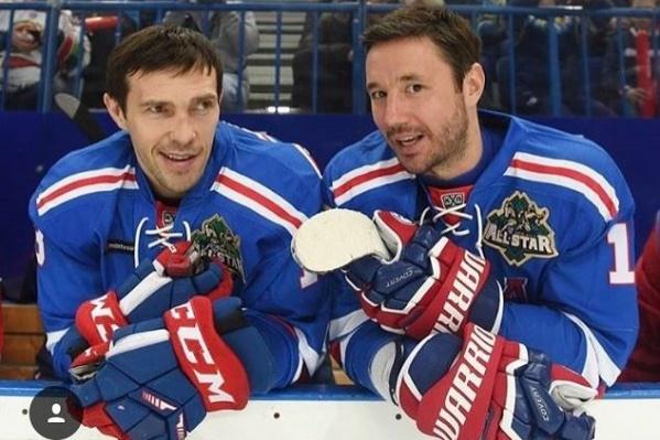 Павел Дацюк играл в СКА с Ильей Ковальчуком, который в этом сезоне уехал в НХЛ