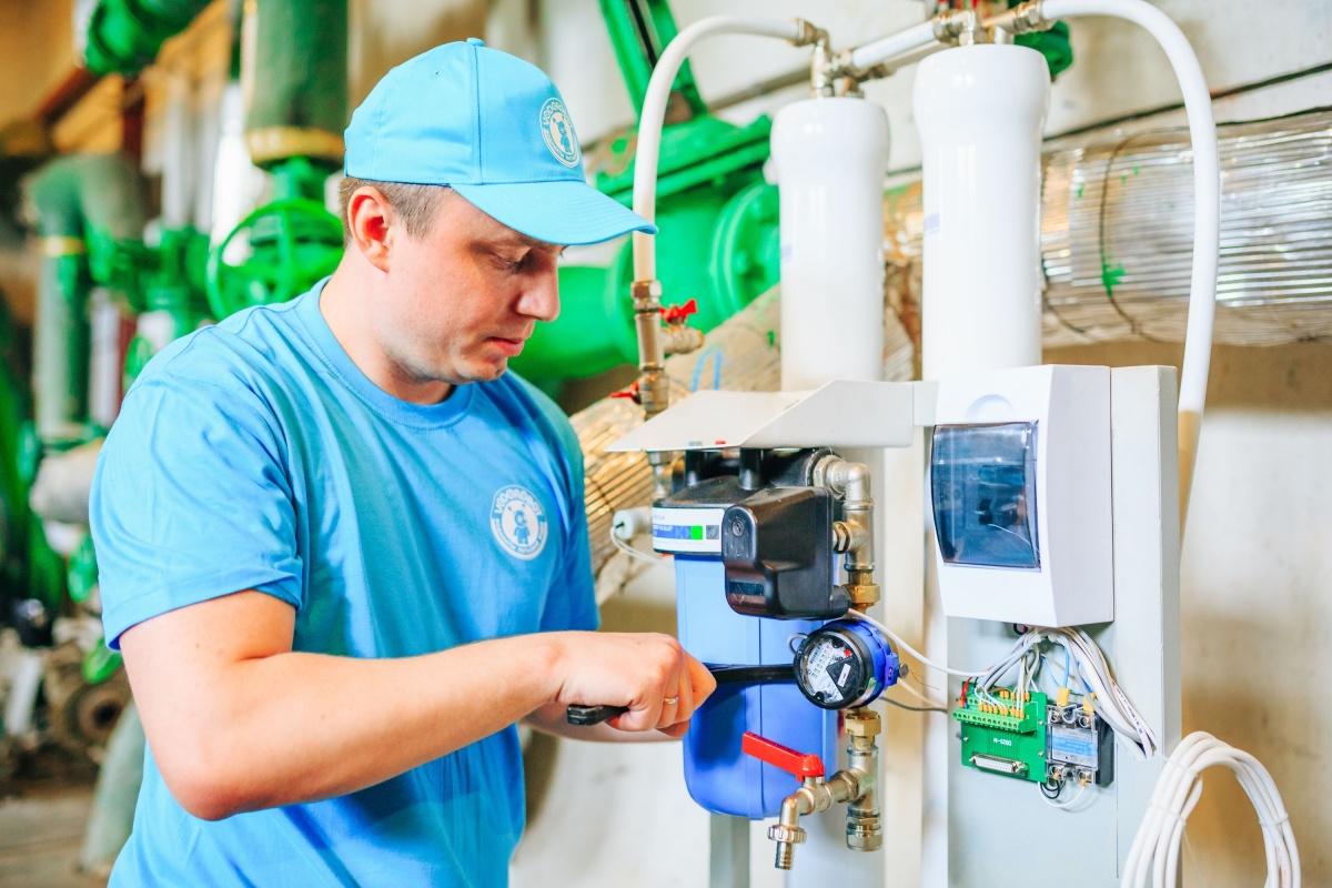 Фильтрующие элементы в каждом водомате меняются в зависимости от его загруженности, но не реже 1 раза в 3 месяца