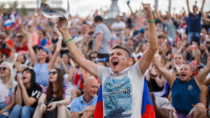В перерывах между футболом волгоградская фан-зона научит болельщиков говорить