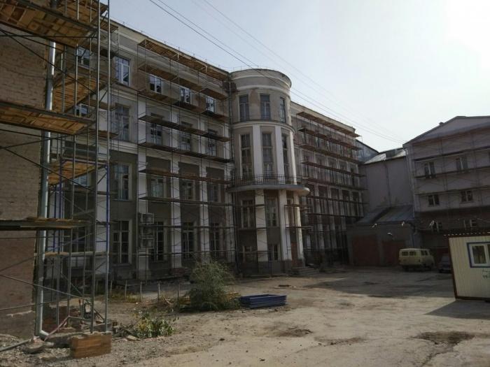 После ремонта здание сохранит исторический облик