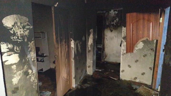 В Башкирии в сгоревшей квартире нашли мертвым 48-летнего мужчину