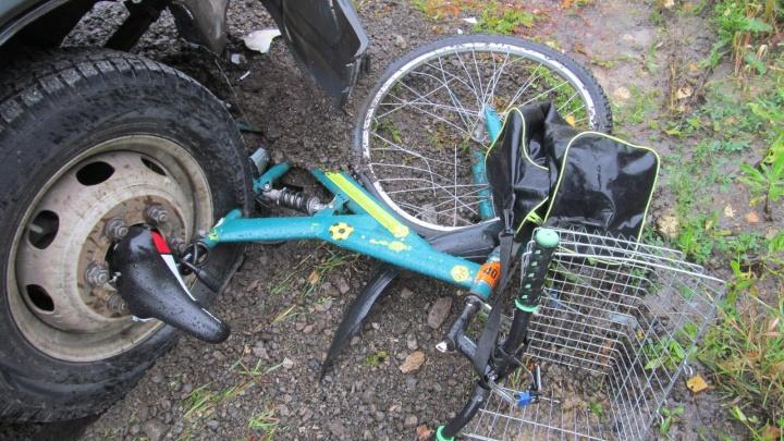 На зауральской трассе погиб велосипедист из Свердловской области