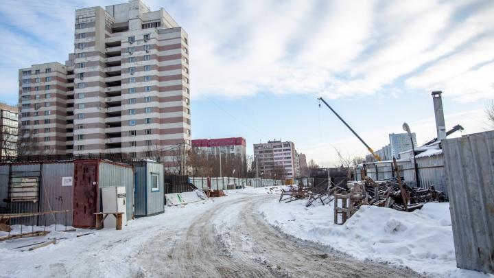 На челябинскую мэрию подали в суд после отказа запретитьстроительство высотки с подземным паркингом
