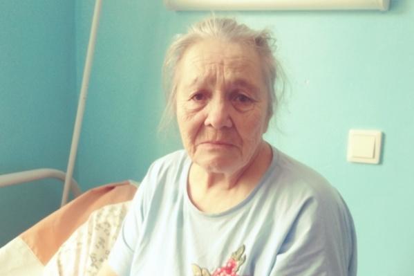 ПенсионеркаТамара Яковенко живет в Шале. Она не помнила, как оказалась в Кунгуре