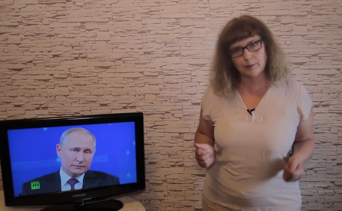 Татьяна Гартман нашла несколько промахов в речи Владимира Путина во время прямой линии
