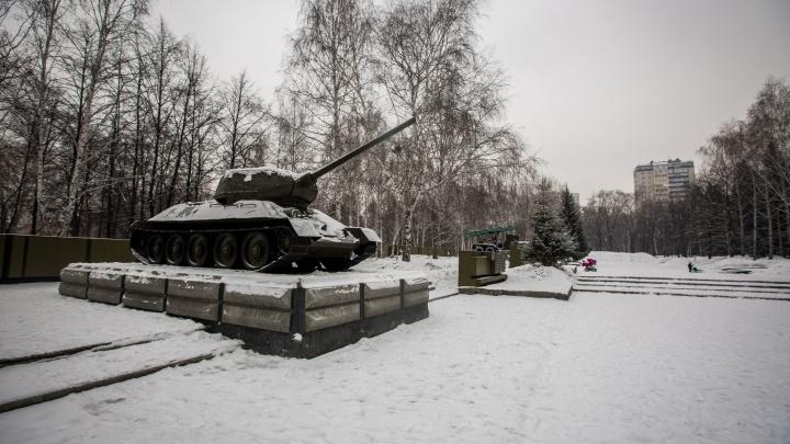 Танк среди матрёшек: в жилом комплексе поставят копию легендарного Т-34