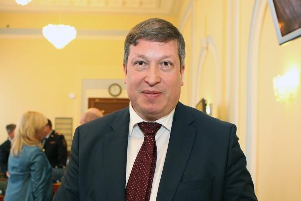 Сегодня Виктор Неженец вышел на работу в качестве заместителя председателя правительства Ярославской области