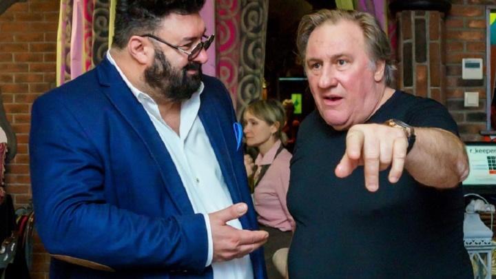Депардье съел медведя и готов открыть ресторан в Новосибирске