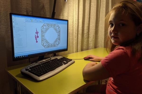 Ангелина Штейн несколько лет занимается робототехникой