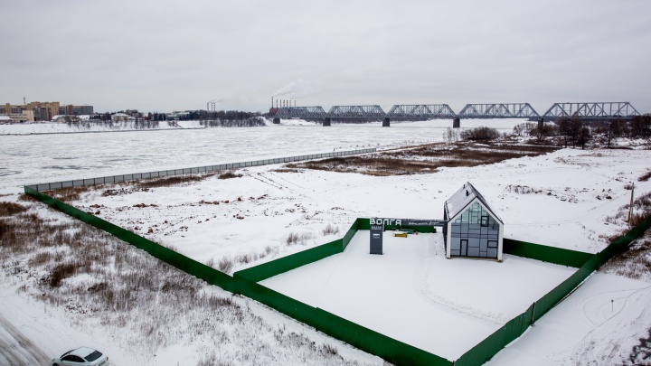 На берегу Волги в Ярославле хотят построить квартал многоквартирных домов