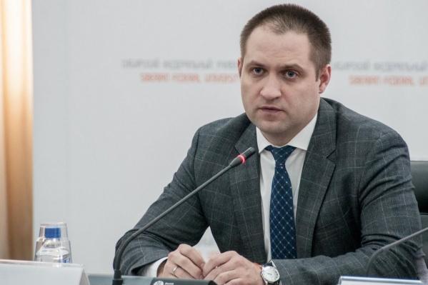 Министр спорта Красноярского края Сергей Алексеев