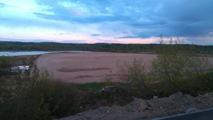 На расчищенной площадке у берега реки Миасс построят «РМК-Арену»