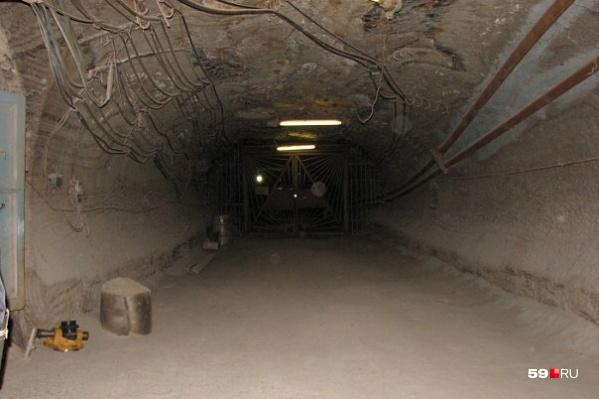 Это одна из шахт Соликамска
