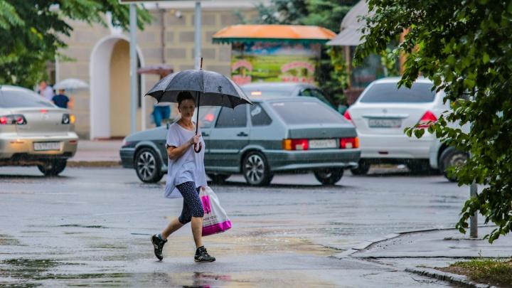 Зонты наготове: какая погода ждет Ростов в первые дни июля