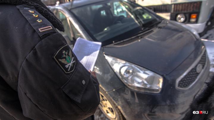 Prado вместо налогов: судебные приставы арестовали машину жителя Тольятти