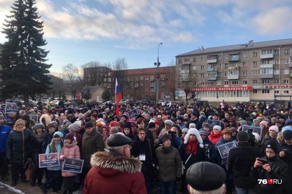 Активнее всех в Ярославской области против строительства ЦБК выступают жители Рыбинска
