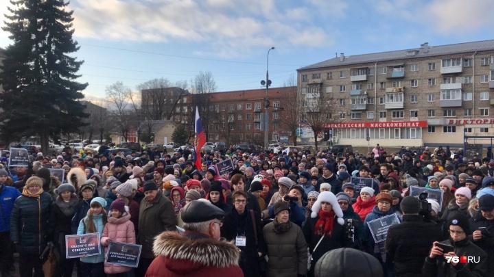 Против ЦБК подписалось 40% трудоспособного населения Рыбинска. Ярославль присоединяется к протесту