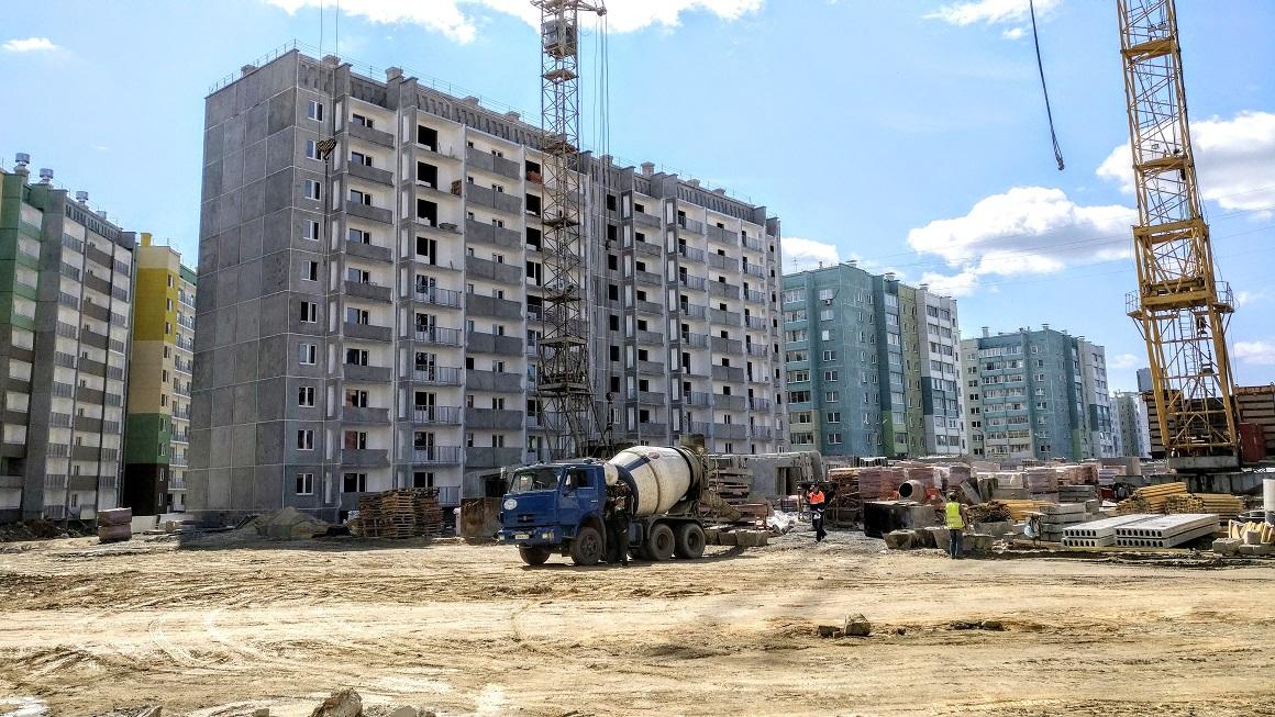 ЖК «Радуга»: строительство продолжается