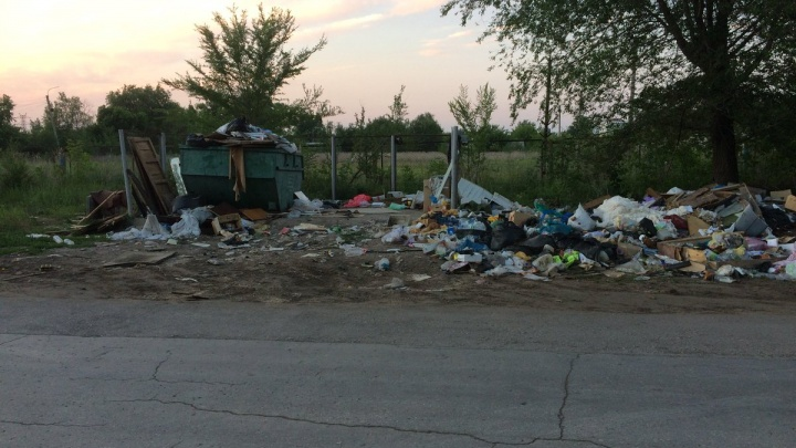 Убрали спустя неделю: в Самаре ликвидировали свалку в Кольчугинском переулке