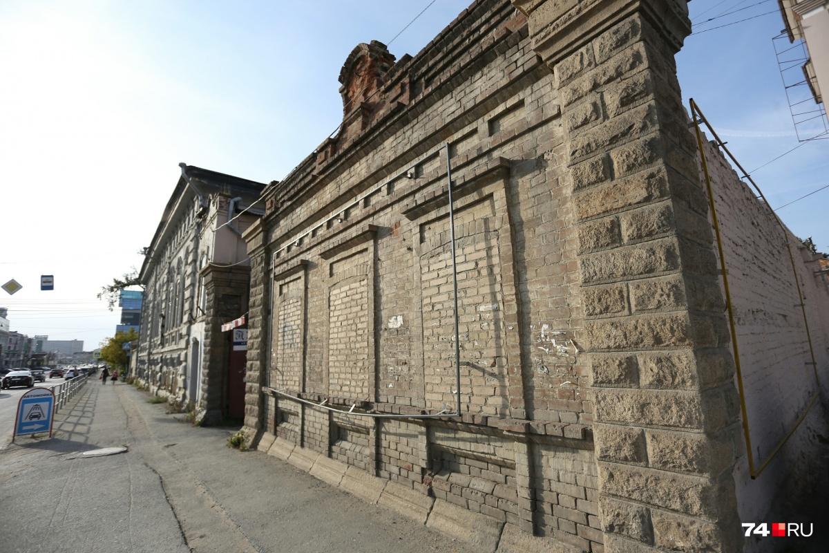 Кирпичное здание на улице Свободы, 8а — выявленный объект культурного наследия