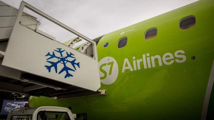Лететь 300 км: S7 открыла продажу билетов на рейсы из Новосибирска в Новокузнецк
