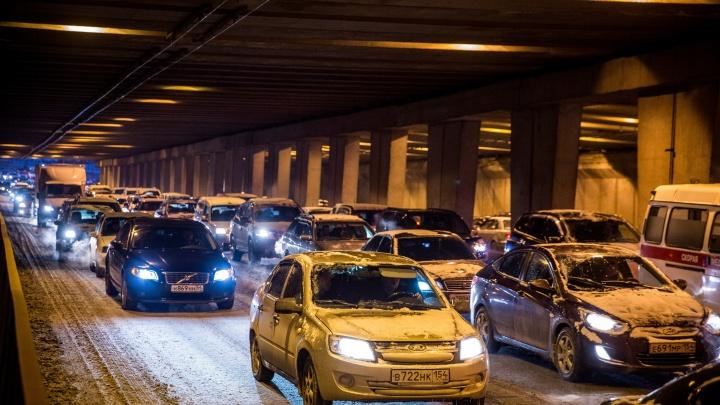 Новосибирск обогнал Женеву в мировом рейтинге городов с многочасовыми пробками