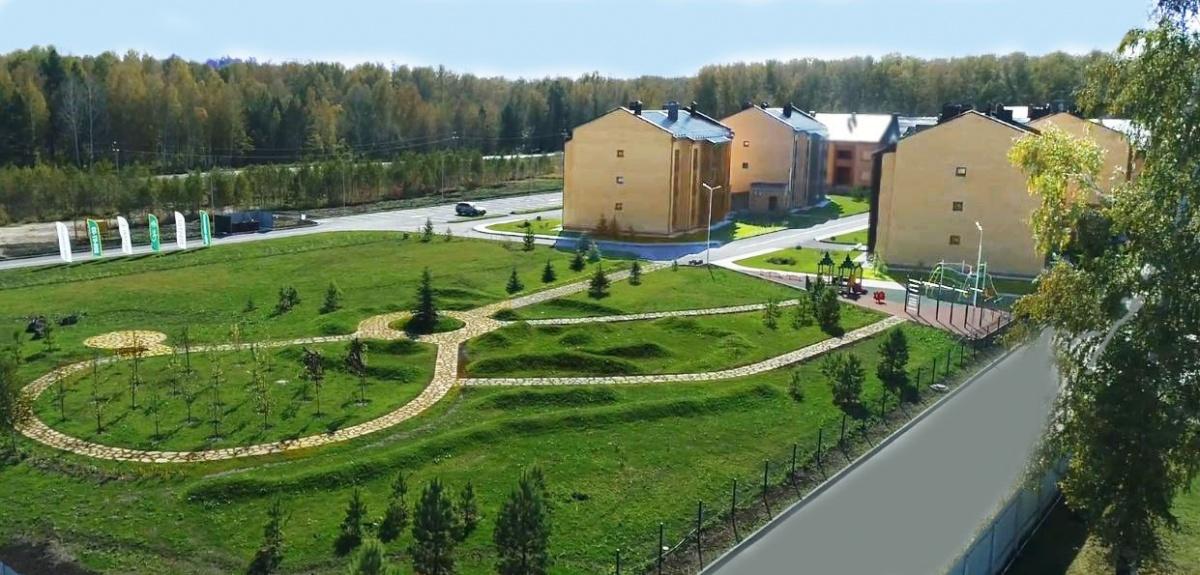 Строители Новосибирска задумали создать «малахитовую реку»