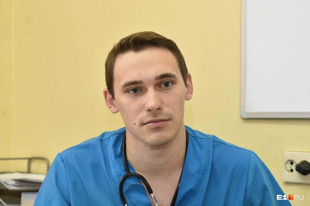 Стать онкологом он решил на шестом курсе