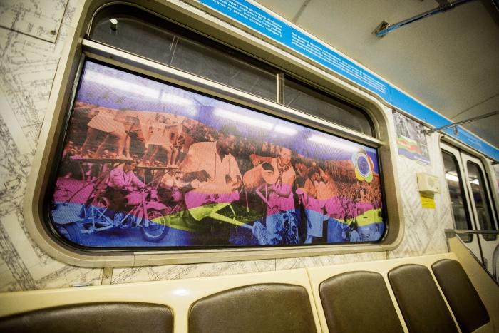 Новая выставка в поезде-музее посвящена студенческим отрядам
