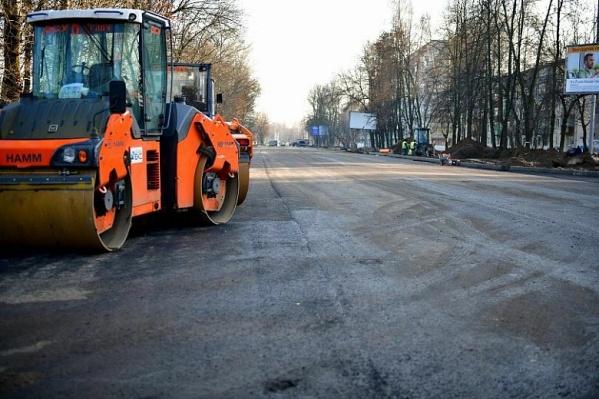 Работы на Тутаевском шоссе в Ярославле будут продолжены