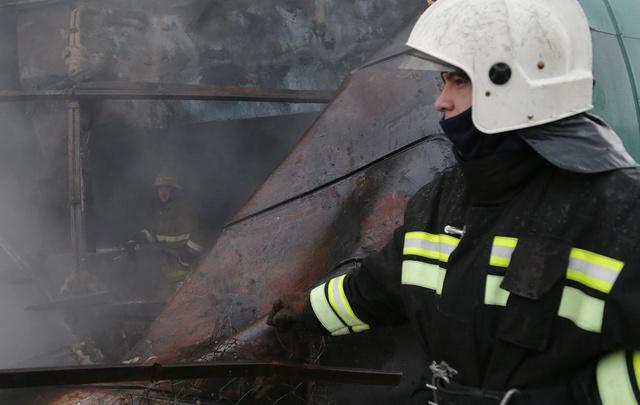 В Уфе из-за пожара эвакуировали 25 человек, среди них есть дети