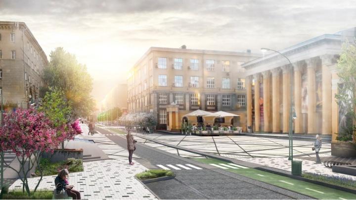 Погулять на сотни миллионов: власти рассказали, во сколько обойдётся ремонт улицы и площади Ленина