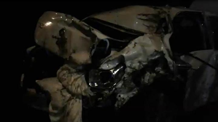 Появилось видео с места массовой аварии на Третьей Продольной Волгограда