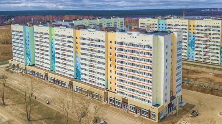 Новый жилой комплекс «Лазурный» на Вышке-2 встретил первых жильцов