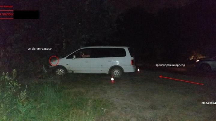 Пьяная женщина без прав и с чужим ребёнком в салоне пыталась скрытьсяот ДПС и врезалась в дерево