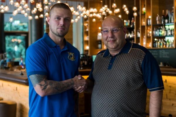 Исландец перешел в донской клуб зимой, а в июле продлил контракт еще на два года