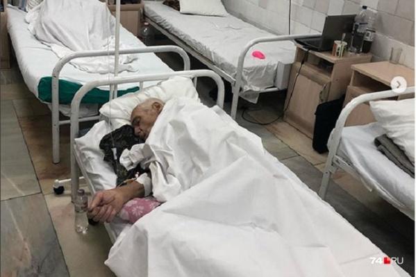 Краснодарские врачи прооперировали и продолжают лечить южноуральца Василия Глебовича Комлева без документов<br>