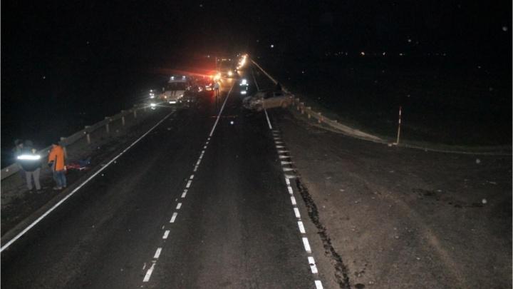 Подробности аварии на трассе в Башкирии: водитель квардроцикла погиб на месте