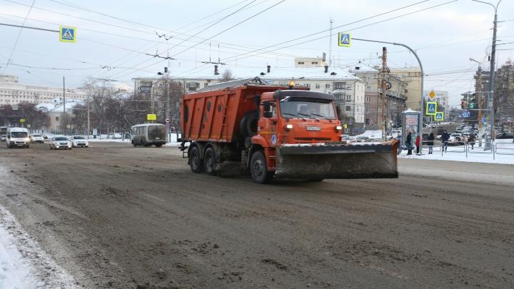 «Выспались и вывели технику на улицы»: из-за нечищеных дорог Челябинск встал в утренней пробке