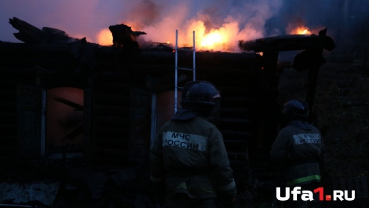 На пожаре в башкирской деревне погибли два человека