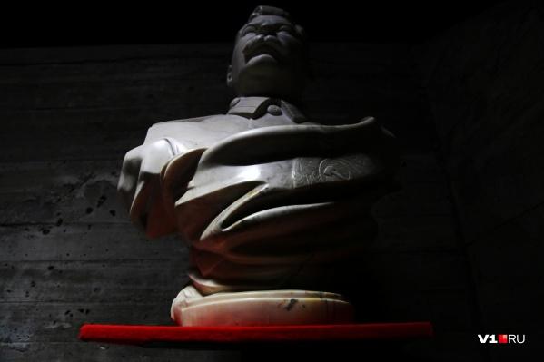 Классический бюст вождя народов демонстрируется в музее-панораме «Сталинградская битва»