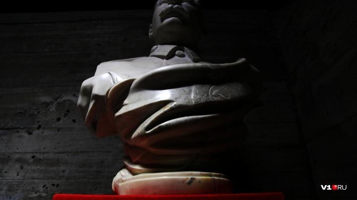 Памятник Иосифу Сталину откроют в центре Волгограда в его день рождения