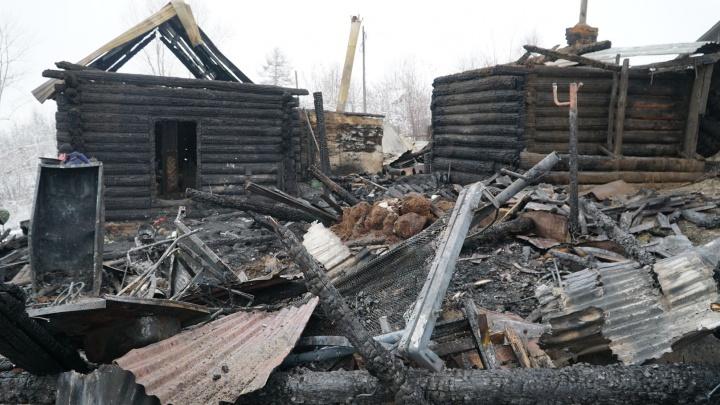 «Пыталась прикрыть малыша собой»: подробности пожара в Чусовом, где погибли шесть человек