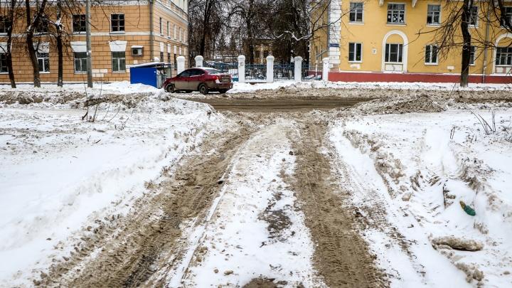 Ночная уборка в Нижнем Новгороде: публикуем места, где будут бороться со снегопадом сегодня