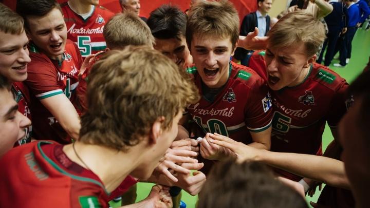 Новосибирские волейболисты выиграли Кубок Молодёжной лиги