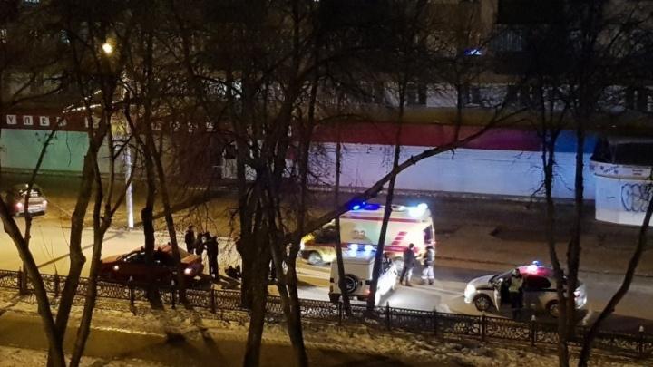 В Башкирии легковушка сбила мужчину, переходившего улицу