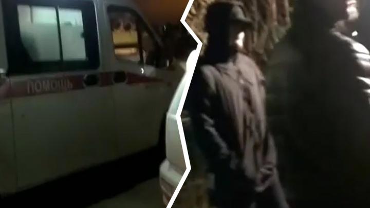 Жители Балластного карьера стали по ночам охранять дорогу от техники. Сегодня потребовалась скорая